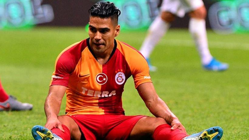 Galatasaray'da Falcao yine sakatlandı