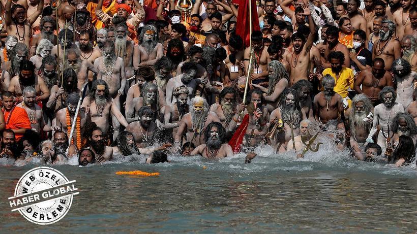 Hindistan'da gözler o festivale çevrildi... 9 milyon insan katılmıştı!