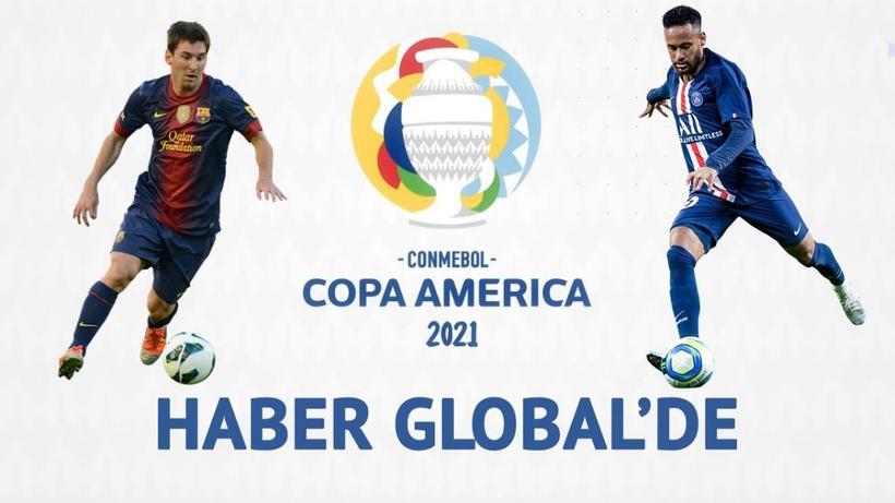 Haber Global ve Kontra Youtube Kanalı'nda Copa America maçları yayın akışı
