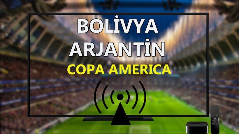 Bolivya Arjantin maçı CANLI İZLE