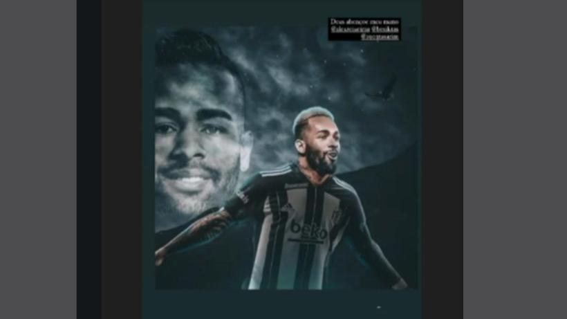 Alex Teixeira'dan Beşiktaş paylaşımı