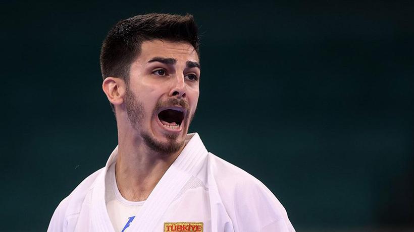Karatede ilk olimpiyat madalyası geldi! Eray Şamdan gümüş madalya kazandı