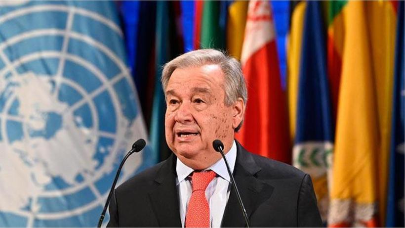 BM Genel Sekreteri Antonio Guterres: 1,1 milyar dolardan fazla bağış sözü alındı!