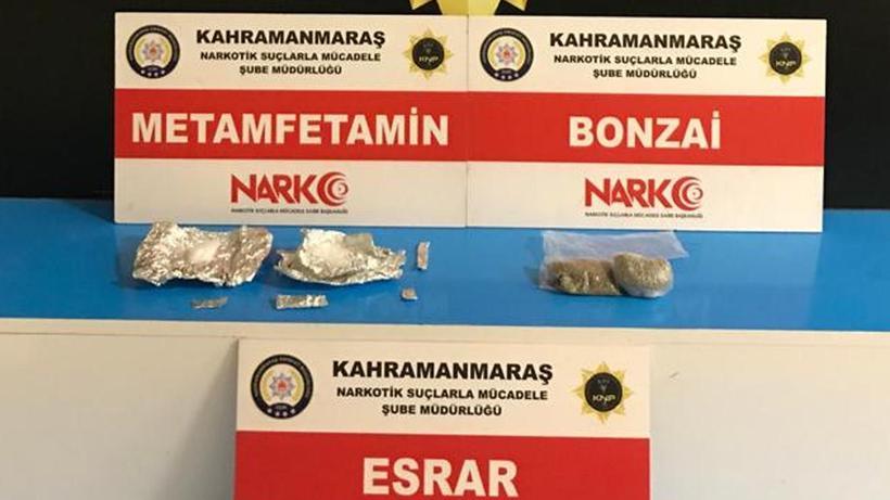 Kahramanmaraş'ta zehir tacirlerine yönelik operasyon: 3 tutuklama