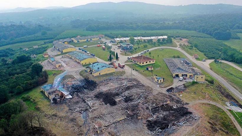 Sakarya Hendek'te havai fişek fabrikasındaki patlamada sabotaj iddiasına MİT'ten cevap
