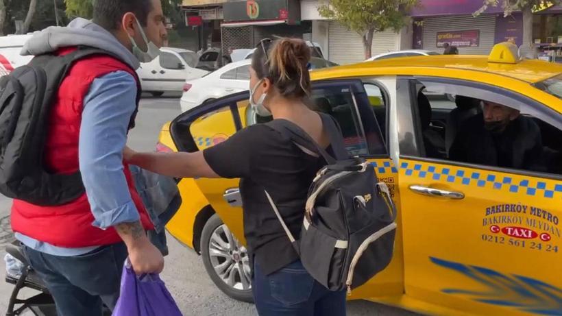 Kısa mesafe nedeniyle müşteri almayan taksi şoförüne ceza