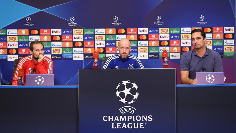 Ajax teknik direktörü Erik ten Hag, çekindiği Beşiktaşlı futbolcuyu açıkladı