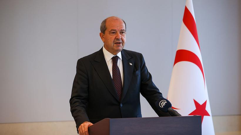 Kritik görüşme sonrası Ersin Tatar'dan açıklama