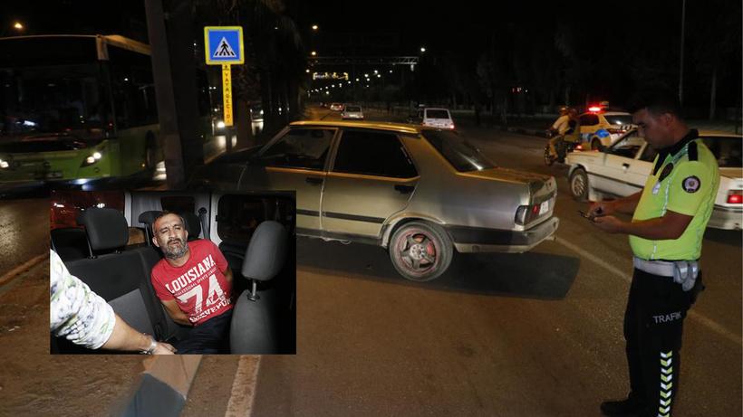 Polisten kaçıp kaza yapınca yakalandı! Aracından çıkanlar hayrete düşürdü!