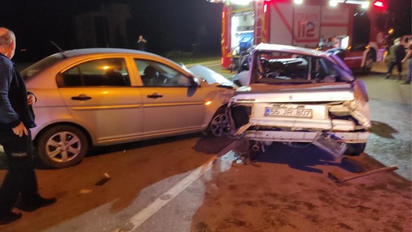 Samsun'da feci kaza: 6 yaralı