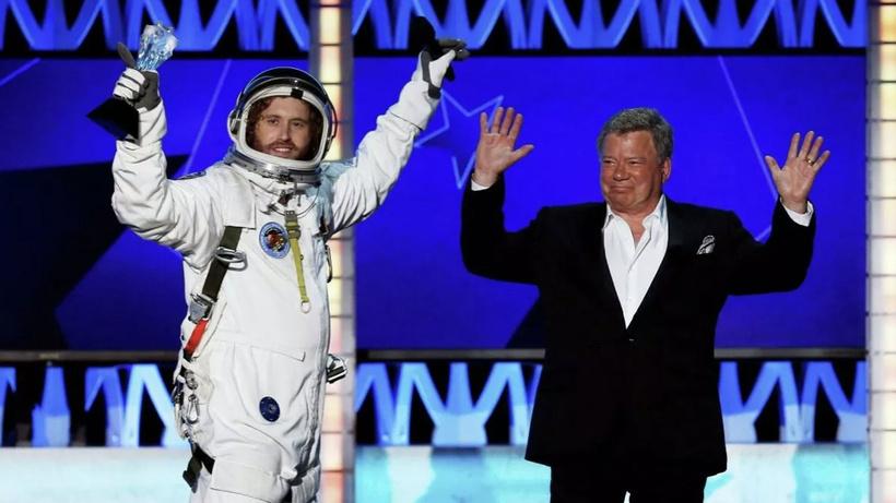 Ünlü aktörün uzay yolculuğuna rüzgar engeli