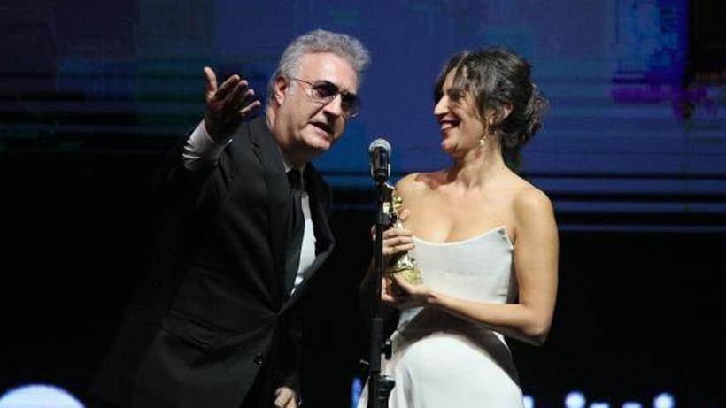 Altın Portakal Ödül Töreni'nde Nihal Yalçın ile diyaloğu olay olan Tamer Karadağlı konuştu