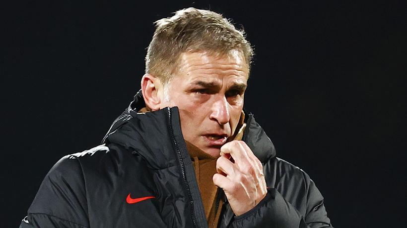 Stefan Kuntz, Letonya maçından sonra gözyaşlarına hakim olamadı
