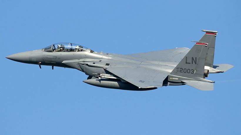 ABD, 15 F-15 savaş uçağını Yunanistan'a sevk etti