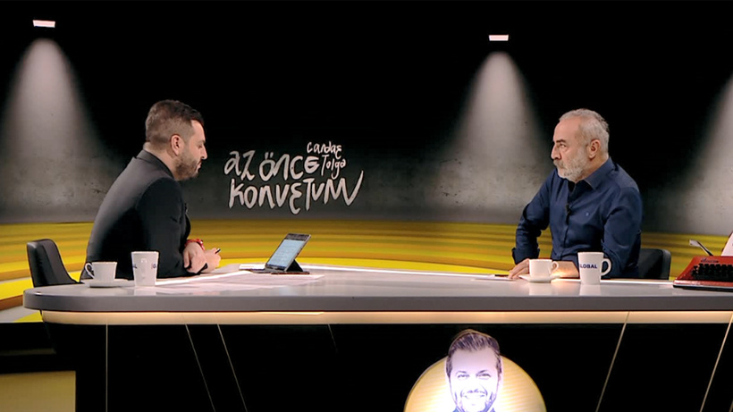 Candaş Tolga Işık'la Az Önce Konuştum'un bu haftaki konuğu Yılmaz Erdoğan