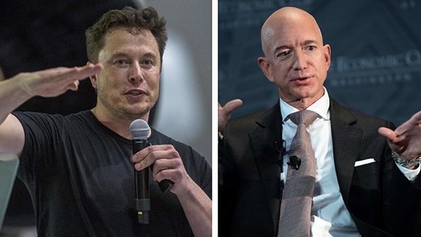 Elon Musk yine rahat durmadı: Jeff Bezos'u yerden yere vurdu