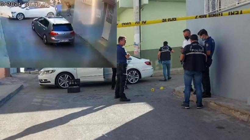 İzmir'de sokak ortasında işlenen cinayetin görüntüleri ortaya çıktı