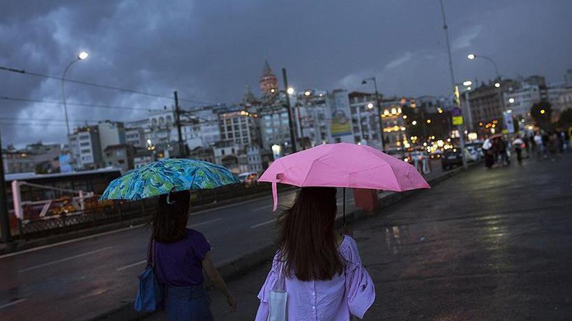 Son Dakika Meteoroloji 12 Ekim hava durumu raporunu yayımladı! İstanbul, Sakarya, Bursa, Bilecik, Eskişehir için kuvvetli yağış uyarısı