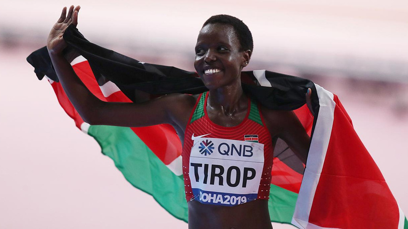 Dünya rekortmeni atlet Agnes Tirop evinde ölü bulundu