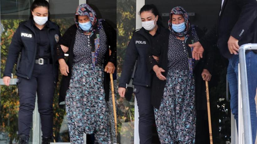 Kayseri'de firari hükümlü yaşlı kadın saklandığı evde yakalandı