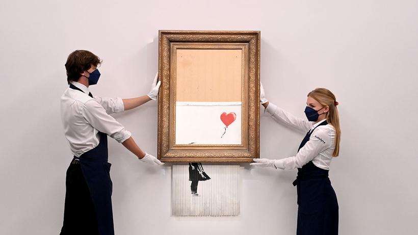 Banksy'nin eseri rekor fiyata alıcı buldu
