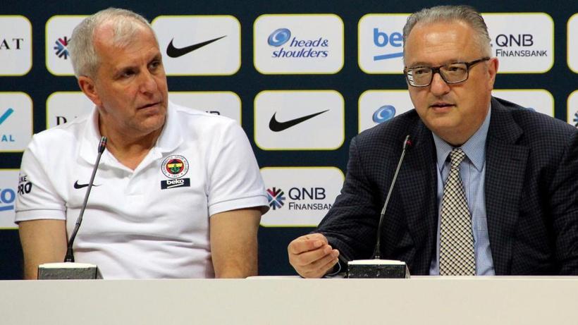 Fenerbahçe Beko Genel Menajeri Maurizio Gherardini'den Obradovic açıklaması