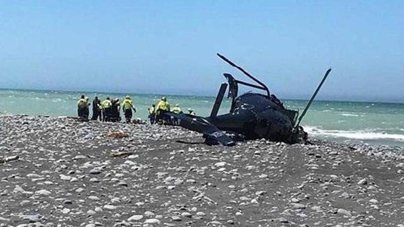 Yeni Zelanda'da helikopter faciası! Ölü ve yaralılar var