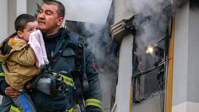Kiracı, 'Allah belanızı versin' yazılı not bırakıp evi ateşe verdi!