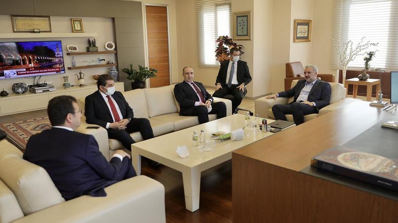 Ekrem İmamoğlu'dan AK Parti ziyareti