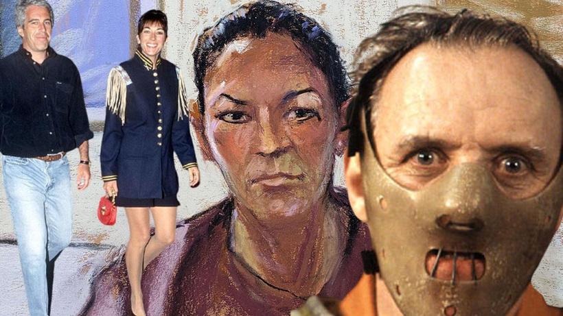 Epstein'ın 'sapıklık' zincirinde sevgilisi Maxwell isyan etti: Hapishane Hannibal'a göre!