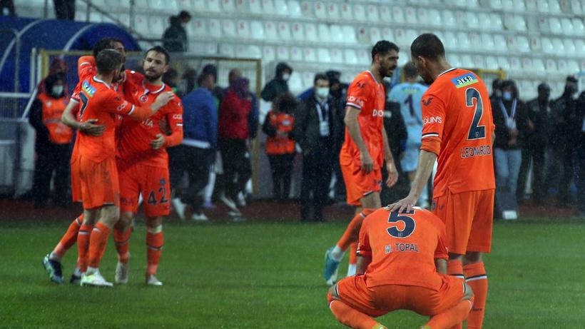 Başakşehir, Erzurum'dan 3 puanla döndü