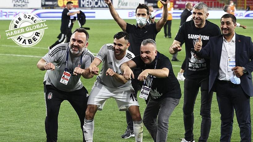Beşiktaş'ın şampiyonluğundaki kırılma anları! Sezonun en iyisi moto kurye ile yetişti...