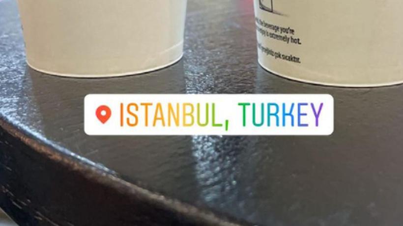 Dünya yıldızı İstanbul'da! Taraftarları heyecanlandıran paylaşım