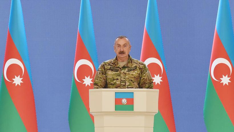 Azerbaycan Cumhurbaşkanı İlham Aliyev'den Türkiye'ye teşekkür