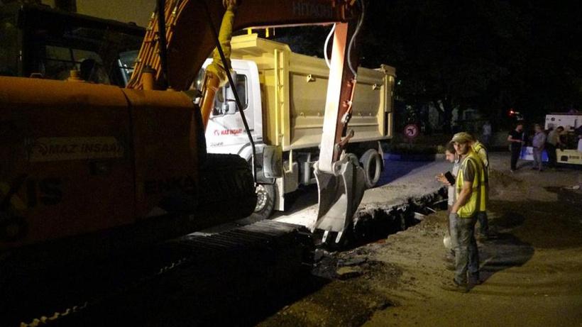 Rusya'nın Trabzon Başkonsolosluğu önünde doğal gaz sızıntısı paniği