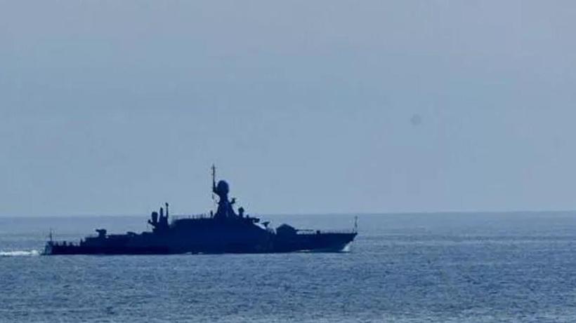 Rusya, Yunanistan'a ait füze gemisini Karadeniz'de takibe aldı
