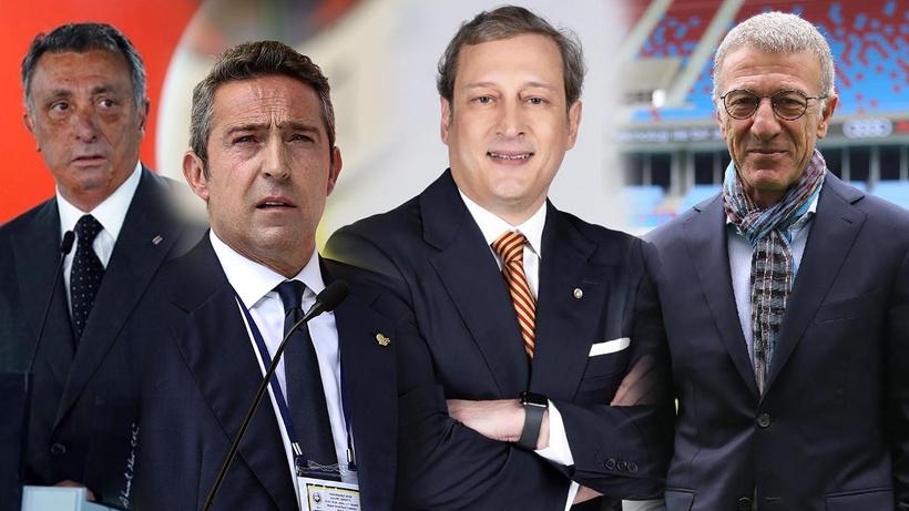 Türk futbolunda tarihi buluşma! 4 büyük kulübün başkanı canlı yayına çıktı