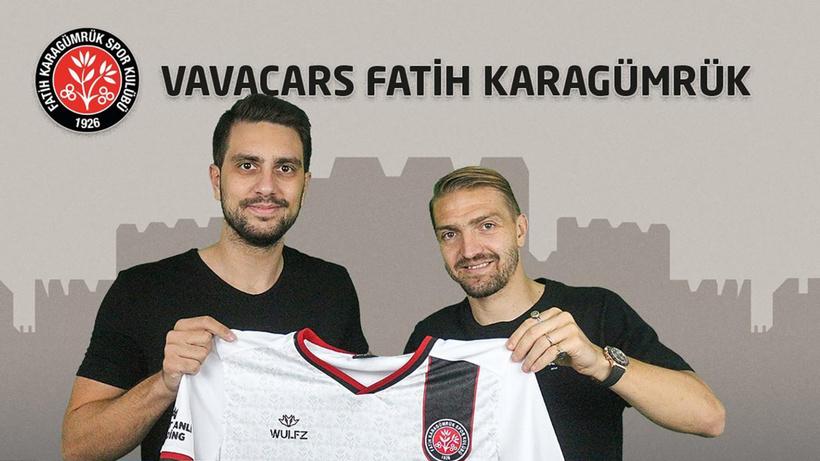 Caner Erkin, Fatih Karagümrük'e transfer oldu
