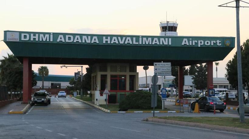 Adana Havalimanı'nda klima motoru patladı: 2 işçi yaralandı