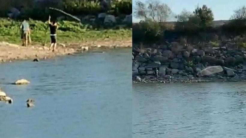 İstanbul'da yasağı hiçe sayıp barajda balık tuttular