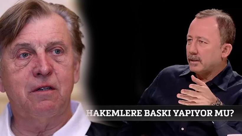 Sergen Yalçın'ın tepki gösterdiği MHK Eğitim Danışmanı Uilenberg'den yazılı açıklama