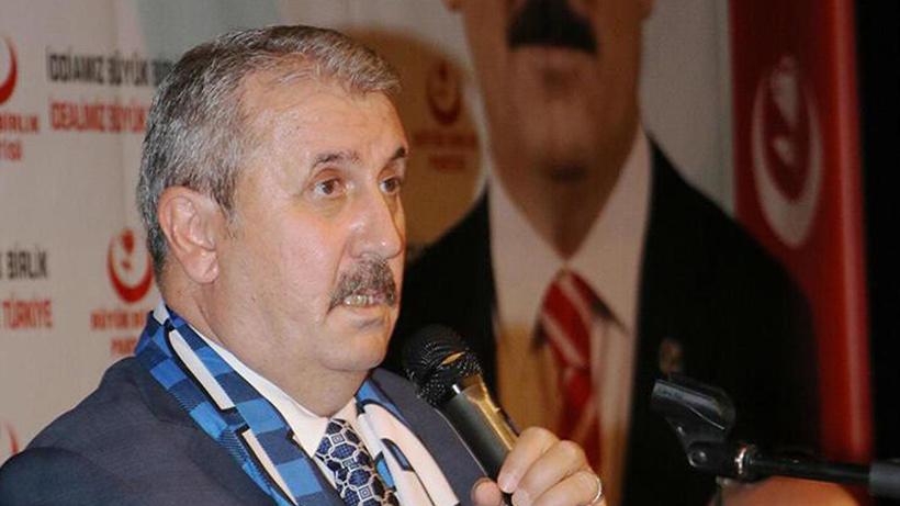BBP lideri Destici: Hem Türk milletinden hem de Fatih Sultan Mehmet Han'ın manevi şahsiyetinden bir özür bekliyoruz