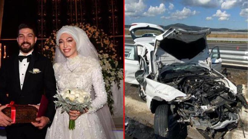 Feci kazada kahreden detay! Genç kadının eşiyle balayından döndüğü ortaya çıktı