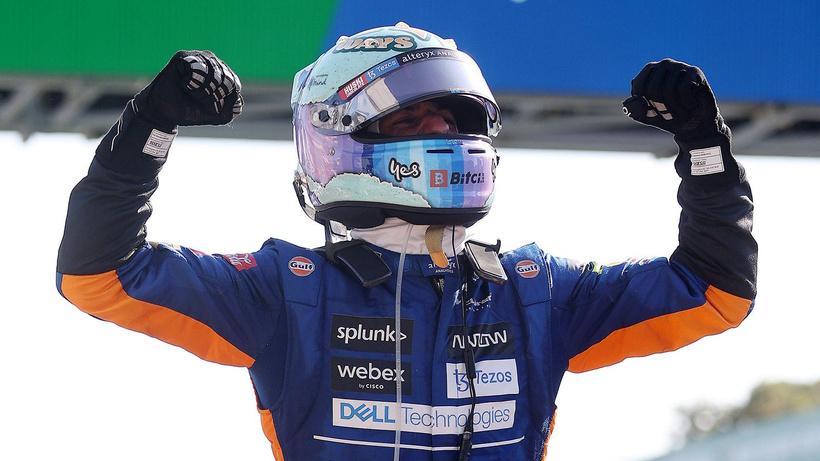 Formula 1 İtalya Grand Prix'sinde zafer Ricciardo'nun
