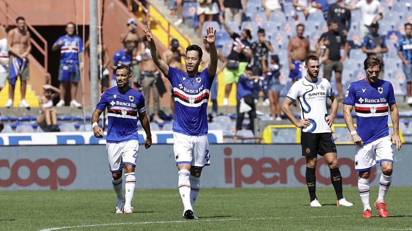 Inter'e Sampdoria çelmesi