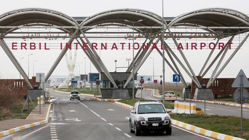 Uluslararası Erbil Havalimanı'na 3 roket düştü