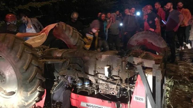 Sakarya'da traktörün altında kalan sürücü hayatını kaybetti