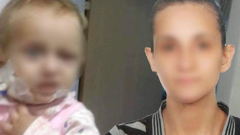 Bebeğe işkence eden anne hakim karşısında!