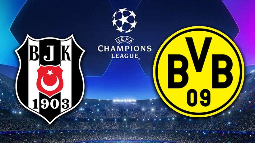 Beşiktaş-Borussia Dortmund maçı ne zaman saat kaçta hangi kanalda?