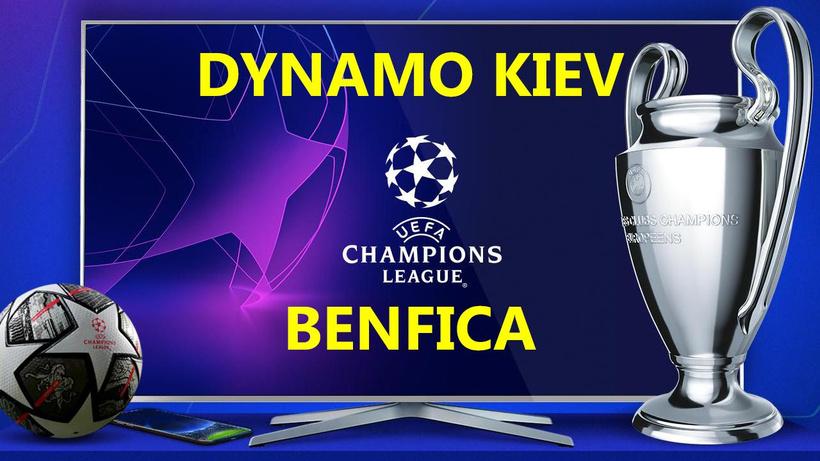 Dynamo Kiev Benfica maçı CANLI